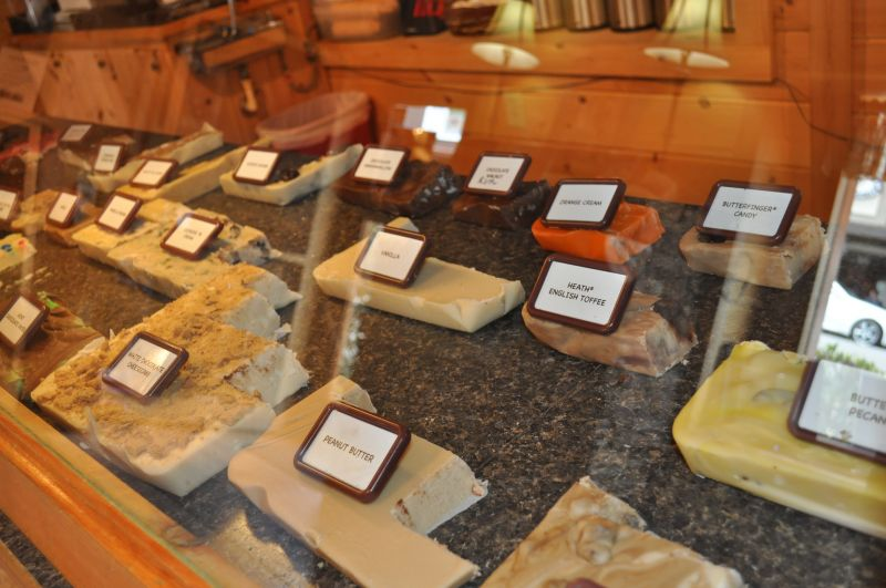 Three Sister's Fudge Sweets and Treats in the Blue Ridge mountains of North Georgia