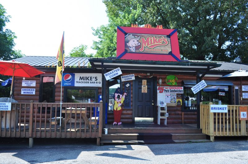 Mike's Trackside BBQ in Blue Ridge Georgia