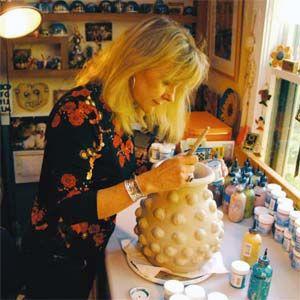 Fishbone Studio, Betty Wassmer Ceramics