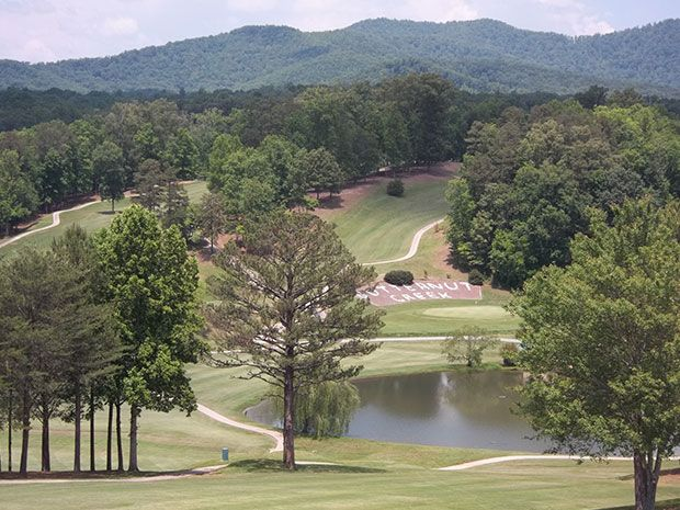 Butternut Creek Golf Course in the Blue Ridge mountains of North Georgia