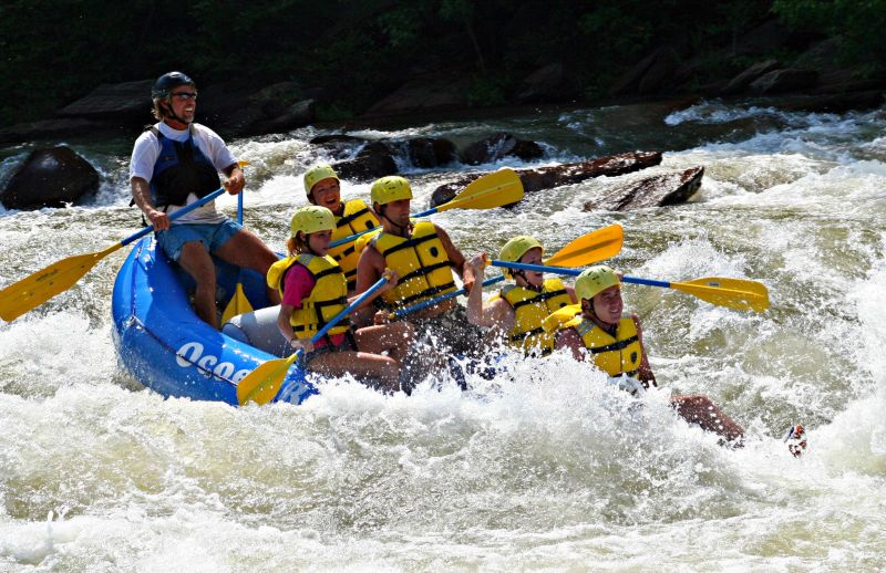 Ocoee Whitewater Rafting in the Blue Ridge Mountains of North Georgia
