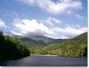 Vogel State Park in the Blue Ridge mountains of North Georgia